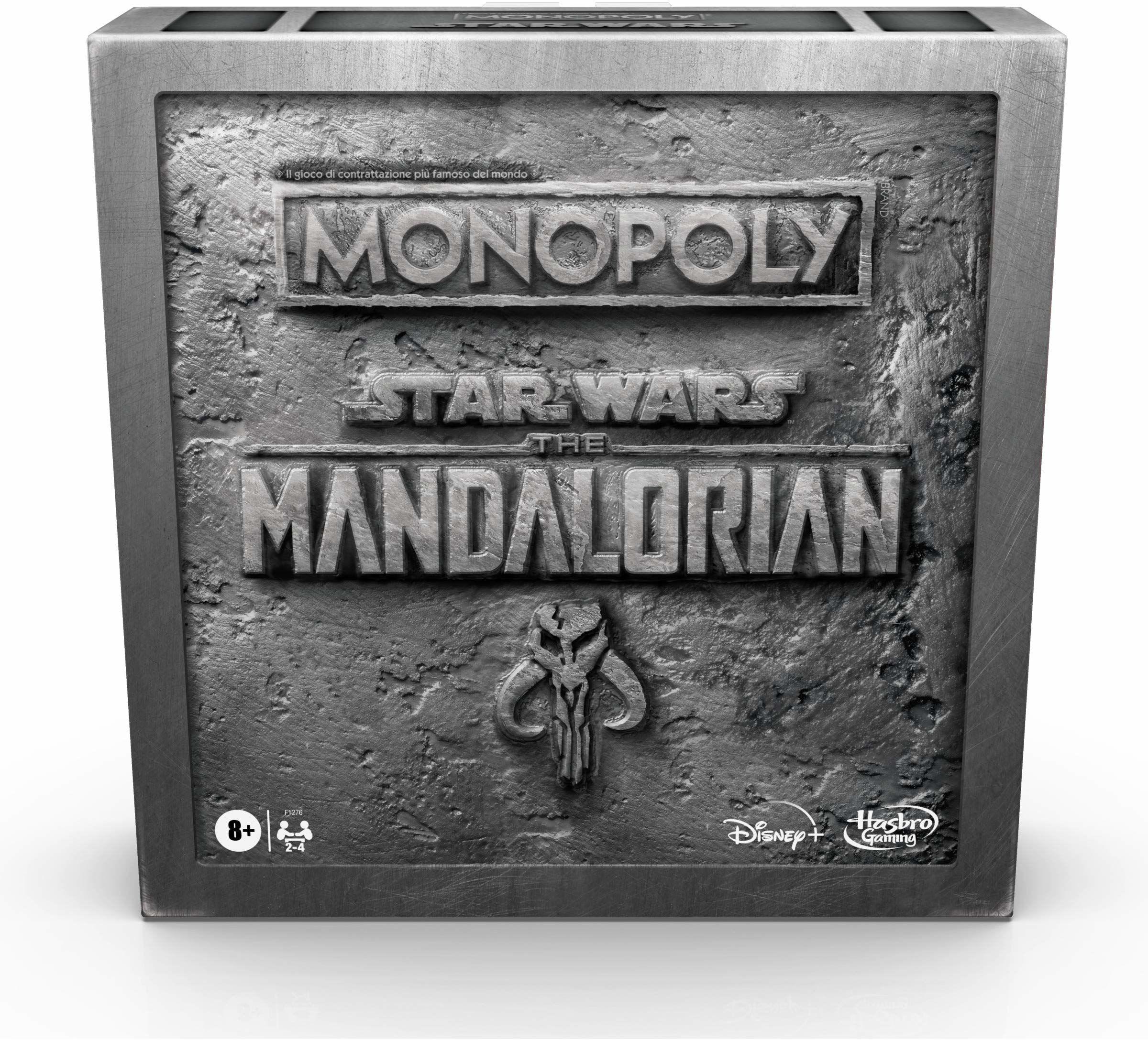 Hasbro Monopoly  Star Wars The Mandalorian  Mandalorian
