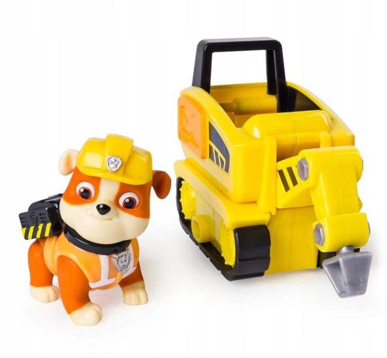 Psi Patrol - Mini pojazd Ultimate Rescue z figurką Rubbel 20101481