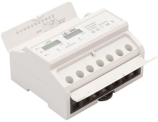 Licznik energii elektrycznej 3-fazowy 100A 230/400V z wyświetlaczem bębenkowym LE-03