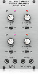 Behringer 1016 DUAL NOISE/RANDOM VOLTAGE - Moduł syntezatora modularnego serii 2500