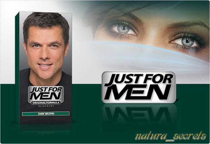 Just For Men Ciemny Brąz H-45 odsiwiacz , szampon , 60ml