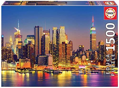 Educa - Manhattan bei Nacht 1500 Teile Puzzle