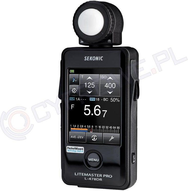 Światłomierz Sekonic L-478DR Litemaster Pro PocketWizard