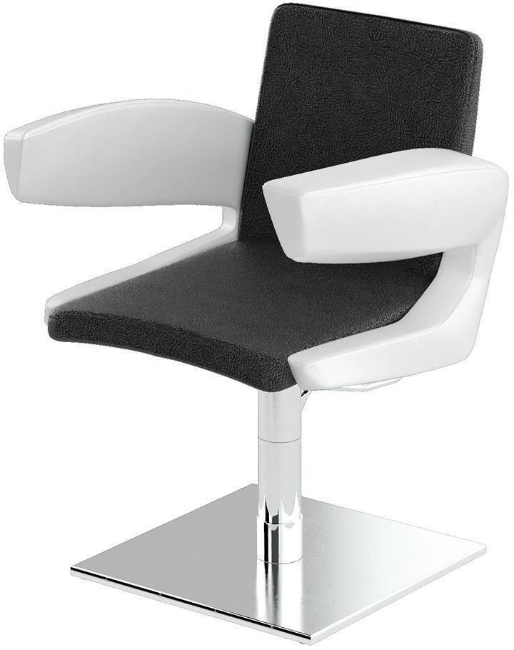 Fotel fryzjerski Panda DIAMOND obicie Basic podstawa XM katalog OPTIMA