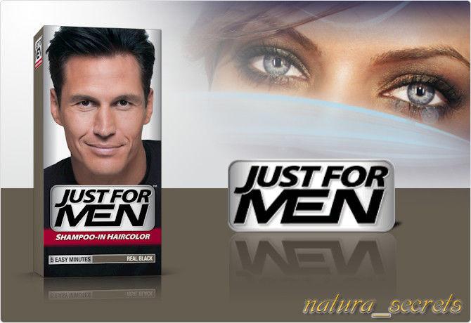 Just For Men Czarny H-55 odsiwiacz , szampon , 60ml