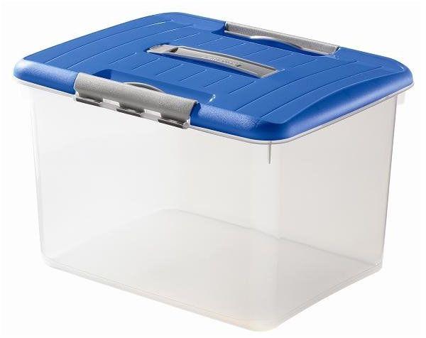 Pojemnik OPTIMA box 30L niebieski