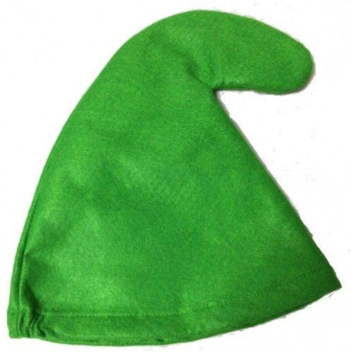 Czapka Skrzata, Elfa, Krasnala - zielona