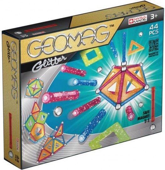 Geomag - Klocki magnetyczne - Kids Glitter 44 el. 532