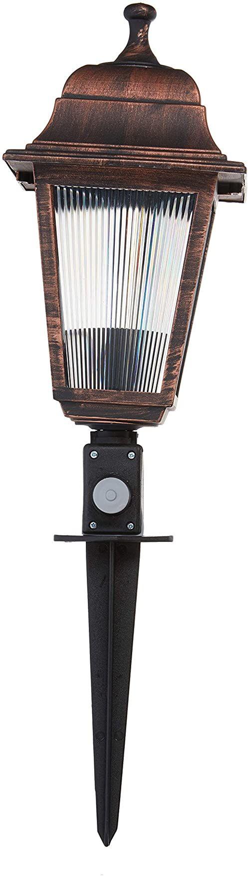 Homemania ASZ.1015 lampa stojąca Opticper do wnętrz, podłoga, miedź z tworzywa ABS, 15 x 15 x 50 cm