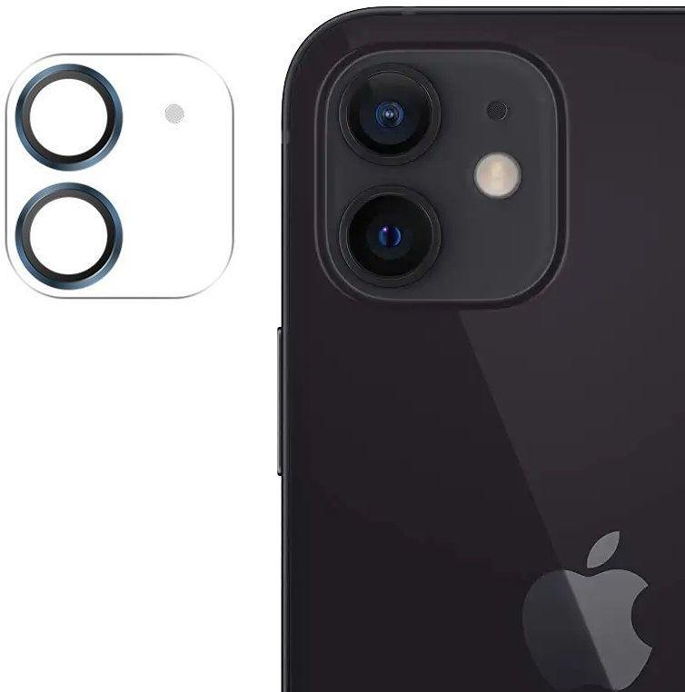 Joyroom Shining Series szkło hartowane na cały aparat obiektyw kamerę do iPhone 12 mini niebieski (JR-PF686)