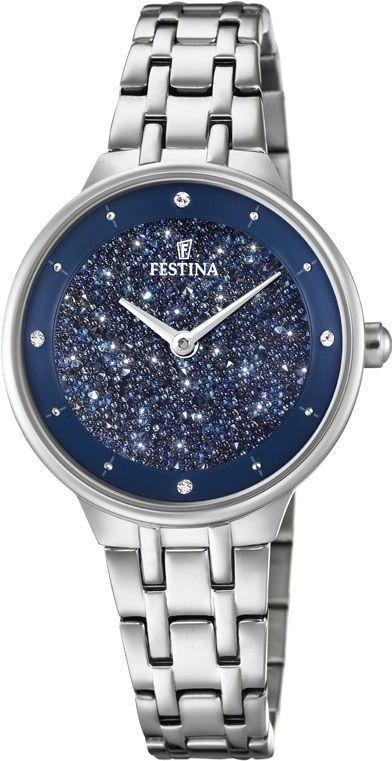 Zegarek Festina F20382-2 Mademoiselle Swarovski - CENA DO NEGOCJACJI - DOSTAWA DHL GRATIS, KUPUJ BEZ RYZYKA - 100 dni na zwrot, możliwość wygrawerowania dowolnego tekstu.