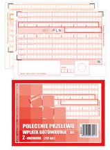 Druk Polecenie Przelew PP (selektywne)A6 1+1