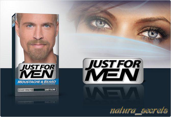 Just For Men Popielaty Blond M10 - żel , odsiwiacz do Brody i Wąsów