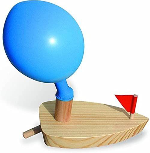 Vilac Drewniana łódź z balonem