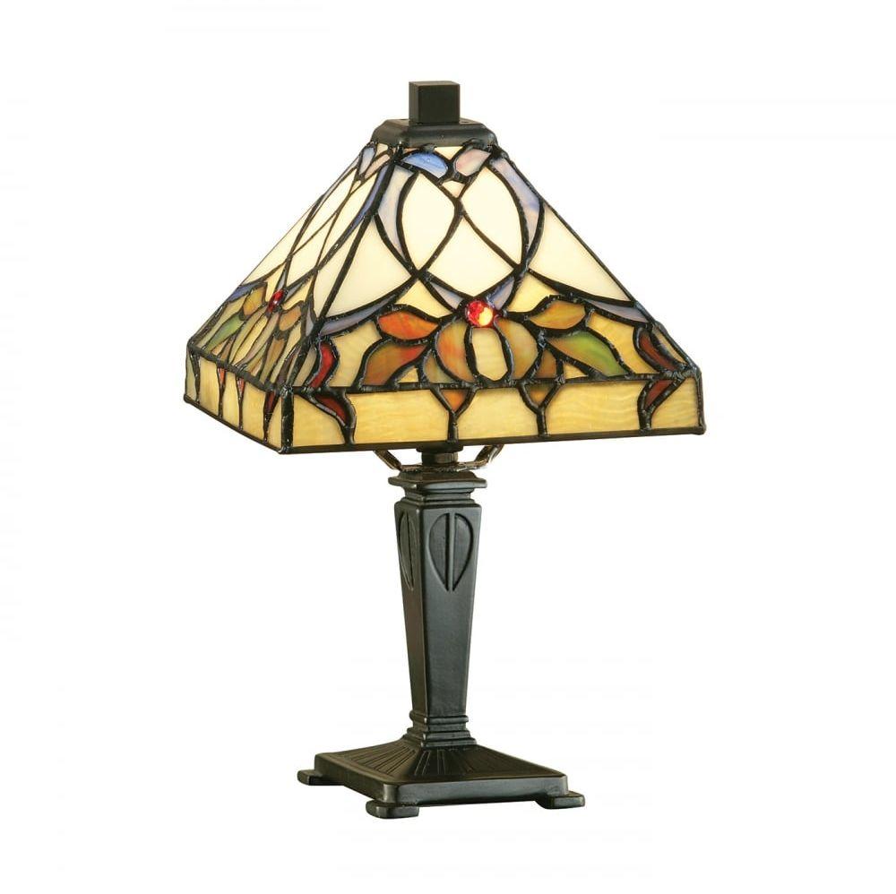 Lampa stołowa TIFFANY ALCEA - 63898 - INTERIORS 1900  Skorzystaj z kuponu -10% -KOD: OKAZJA