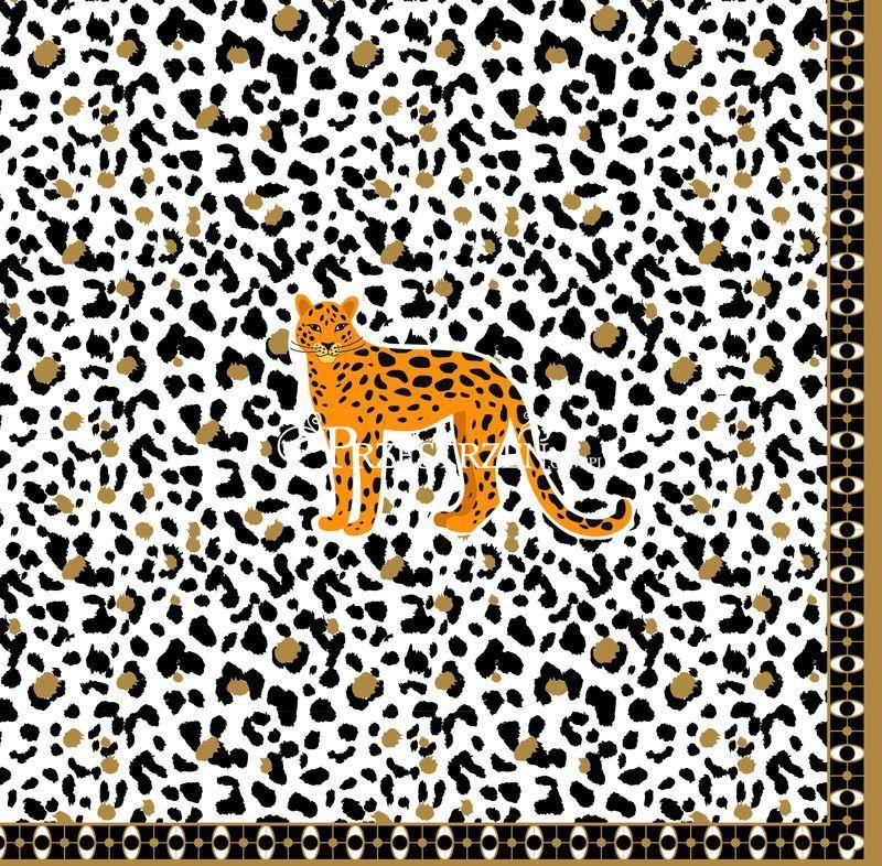SERWETKI PAPIEROWE Savana (z gepardem)