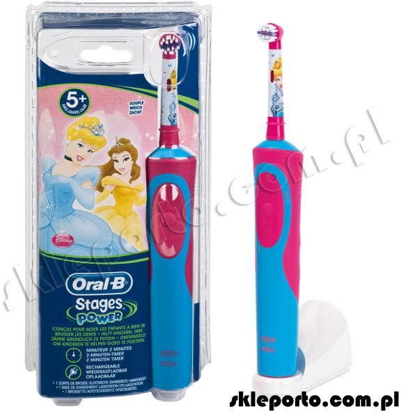 Oral-B Braun szczoteczka Advanced Power 900 Kids - Księżniczka D12.513K