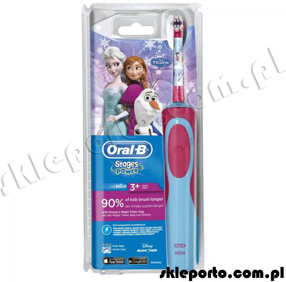 Oral-B Braun szczoteczka Advanced Power 900 Kids - Frozen D12.513K
