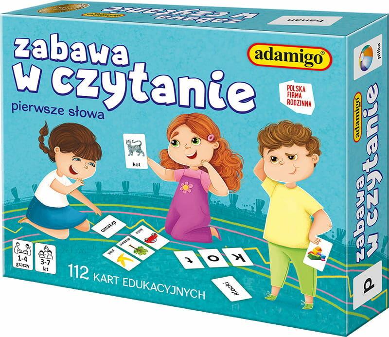 Adamigo Zabawa w czytanie - Karty