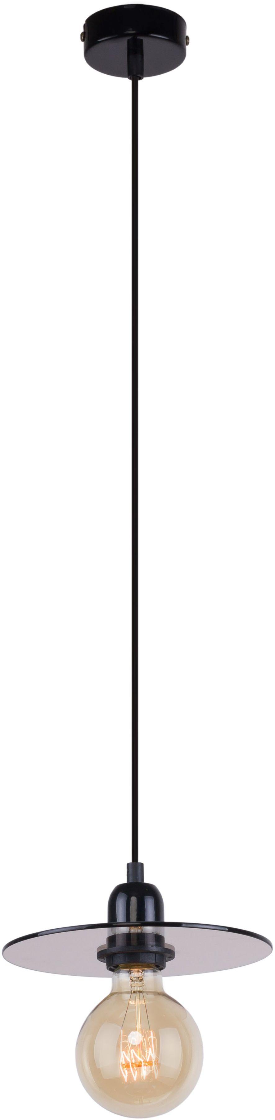 Lampa wisząca 1 punktowa Dysk mała szklana nowoczesna 999G/M - Aldex Do -17% rabatu w koszyku i darmowa dostawa od 299zł !