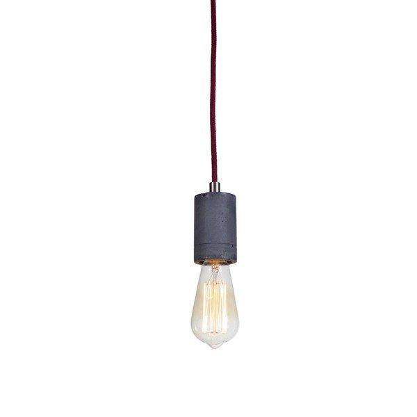 Lampa wisząca betonowa KALLA śr. 5,5cm [różne wersje kolorystyczne]