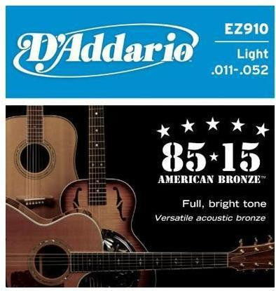D''ADDARIO EZ910 - struny do gitary akustycznej