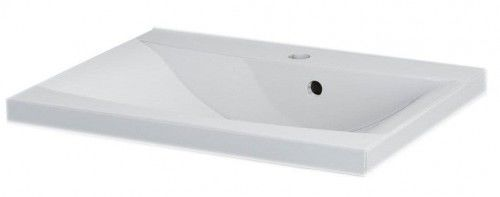 LUCIA umywalka kompozytowa 80x48cm, biała
