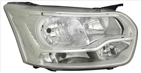 reflektor halogenowy + LED Ford Transit (nowy model) - prawa strona