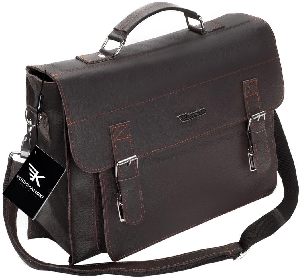 KOCHMANSKI torba teczka skórzana męska na ramie 2116