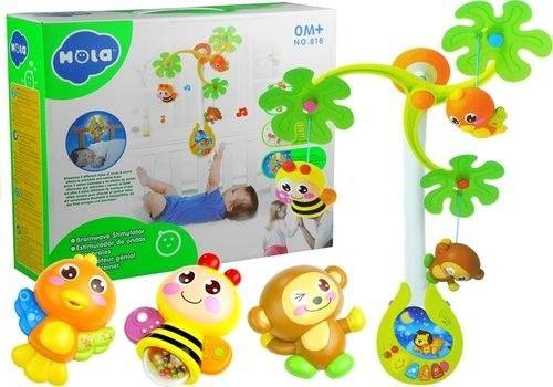 Karuzela Pozytywka Zabawki Grzechotki Dla Maluszka
