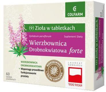 Colfarm Wierzbownica Drobnokwiatowa forte 60 tabletek powlekanych