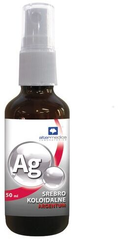Srebro koloidalne Alter Medica Argentum spray - 50 ml