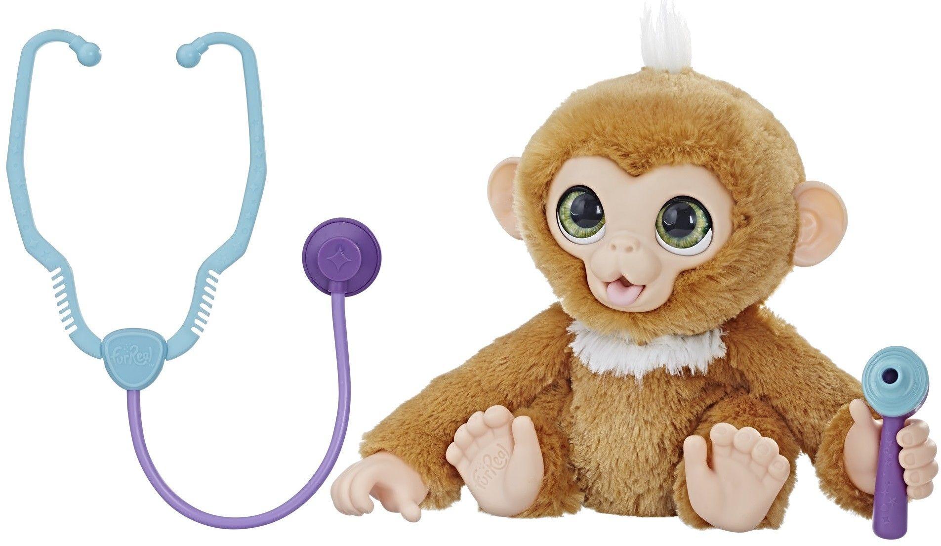 Hasbro FurReal Friends - Interaktywna małpka Zandi E0367