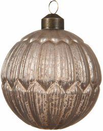 Delamaison DEO4035100 bombka bożonarodzeniowa, szkło, wielokolorowa, 8 x 8