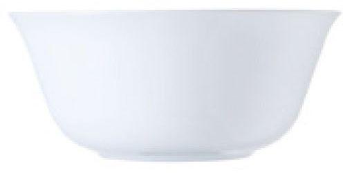 Dajar Miseczka na musli Carine White, szkło, biała, 12 cm