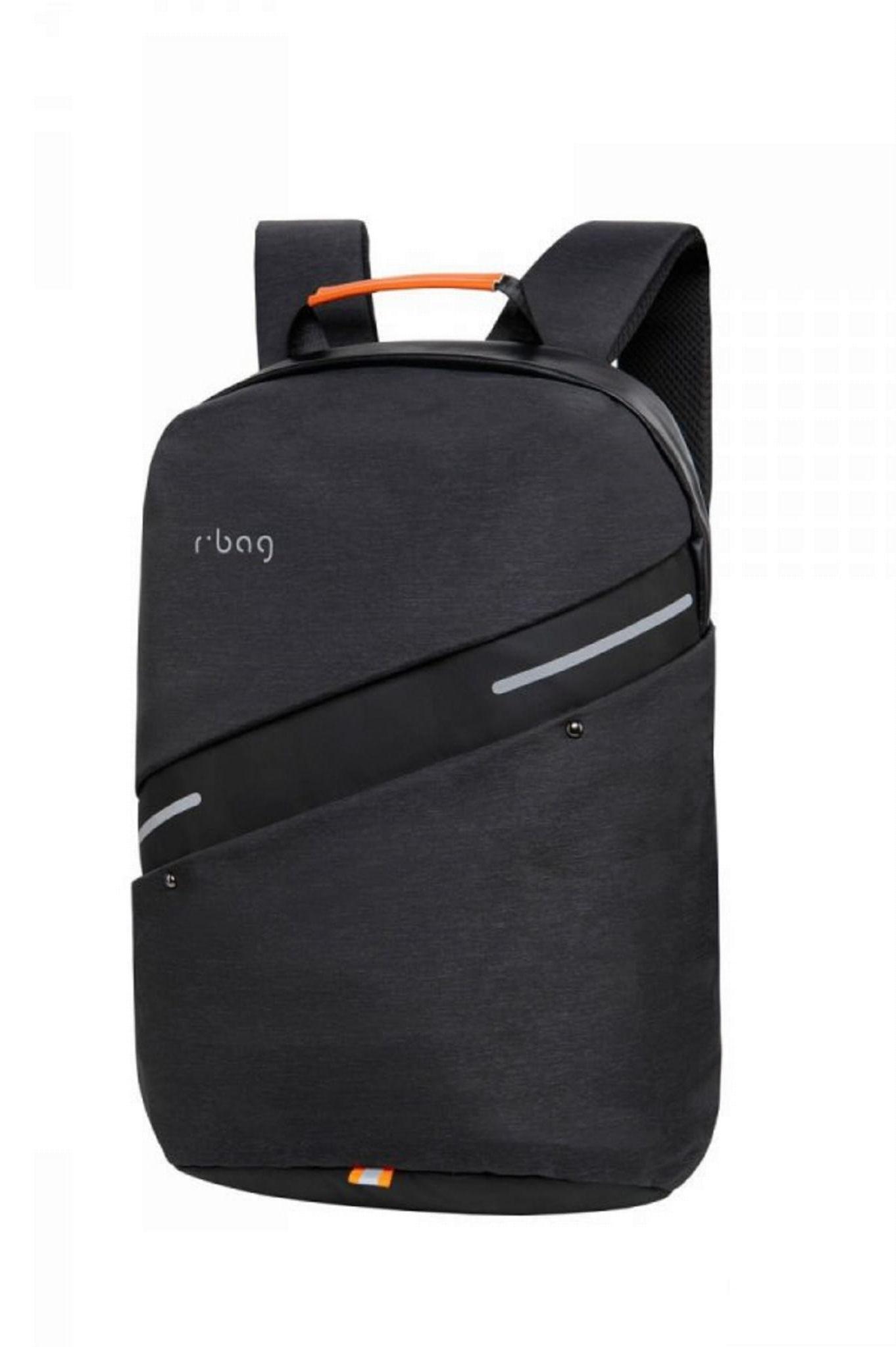 Plecak męski na laptop 13-15,6'' z USB Bunker black rBag