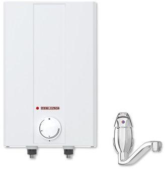Mały ogrzewacz wody nadumywalkowy z armaturą bojler 5 L Stiebel Eltron ESH 2 kW