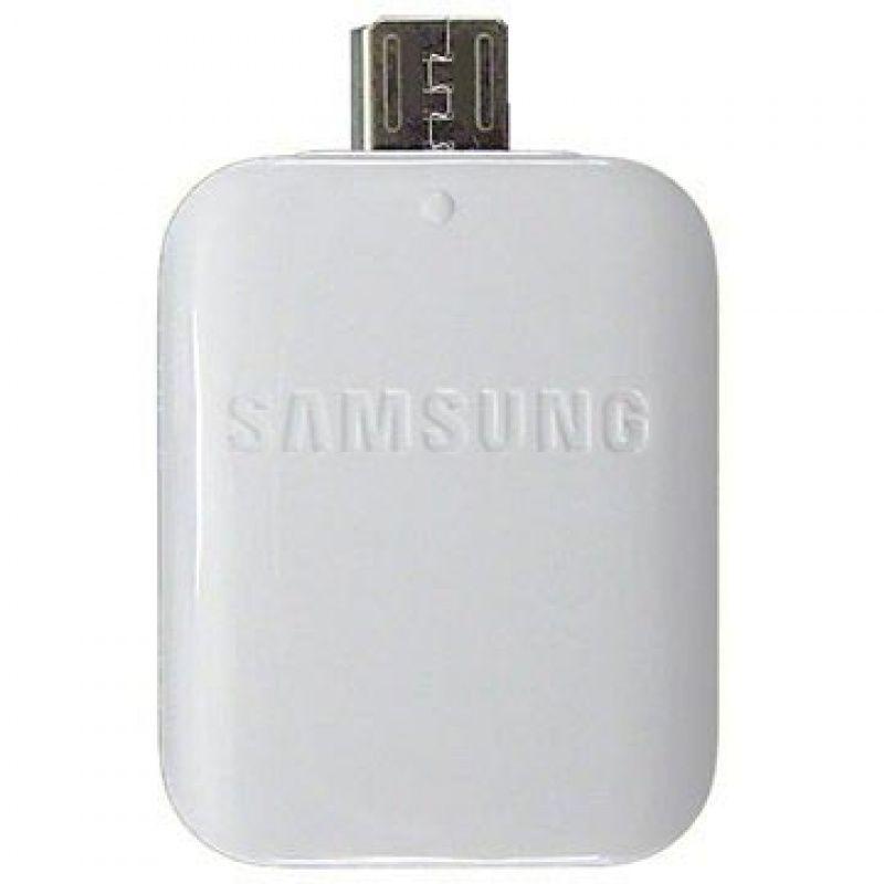 Adapter SAMSUNG OTG [USB/micro USB] biały GH98-09728A