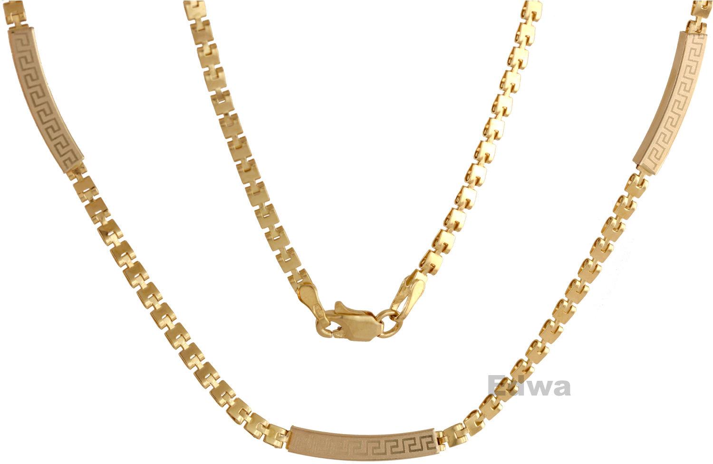 łańcuszek złoty Naszyjnik pr.585