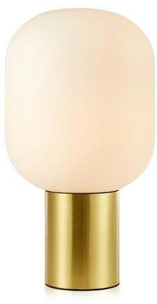 Lampa stołowa Brooklyn 107868 Markslojd złota oprawa w minimalistycznym stylu
