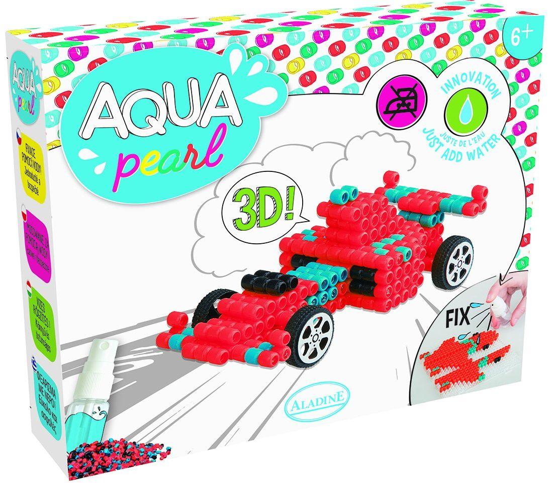Aladine 47018  Aqua Pearl Formuła 1 zestaw do majsterkowania