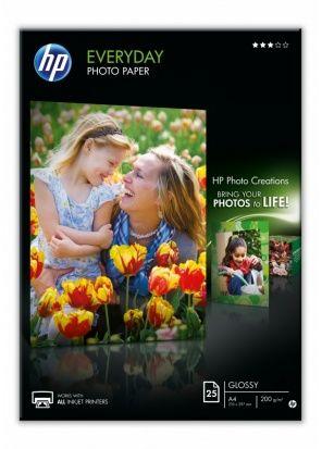 Papier fotograficzny HP Everyday 200g - błyszczący (A4/25 szt.) (Q5451A)