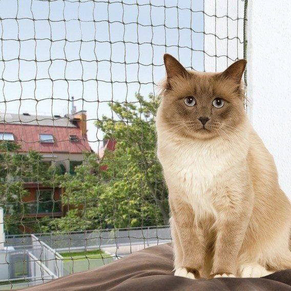 TRIXIE Siatka ochronna dla kota wzmocniona 3x2m DLA ZAMÓWIEŃ + 99zł GRATIS!
