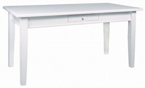 Stół kwadratowy z szufladą 140x140