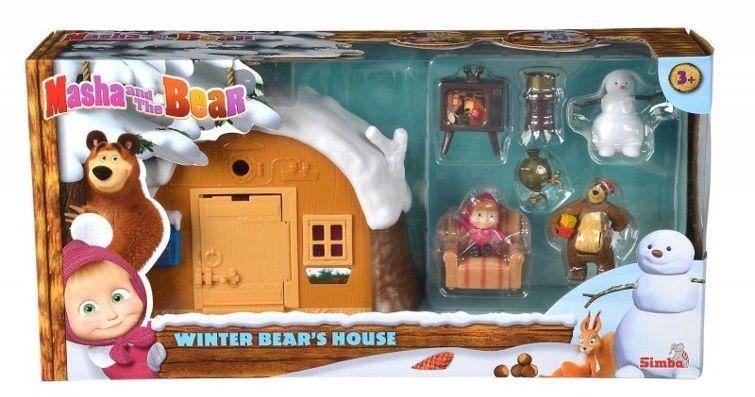 Simba Masza i Niedźwiedź - Zimowy Domek Niedźwiedzia 9301023