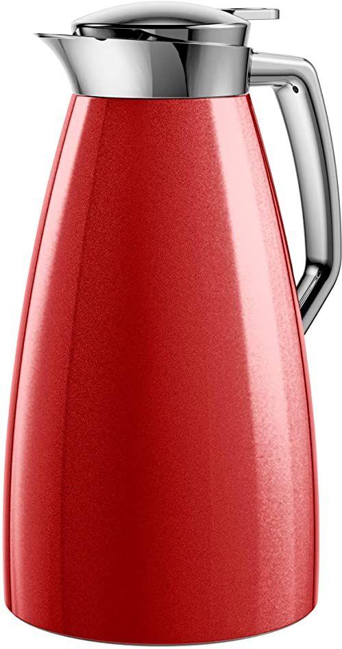 Emsa F4140300 Plaza termos, 1 l, czerwony