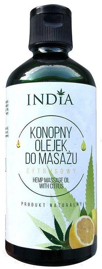 NATURALNY olejek do masażu - CYTRUSOWY - 100ml