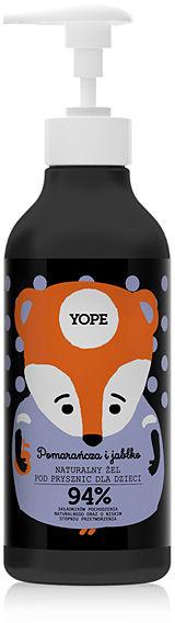 YOPE Naturalny żel pod prysznic dla dzieci Pomarańcza i jabłko 400 ml