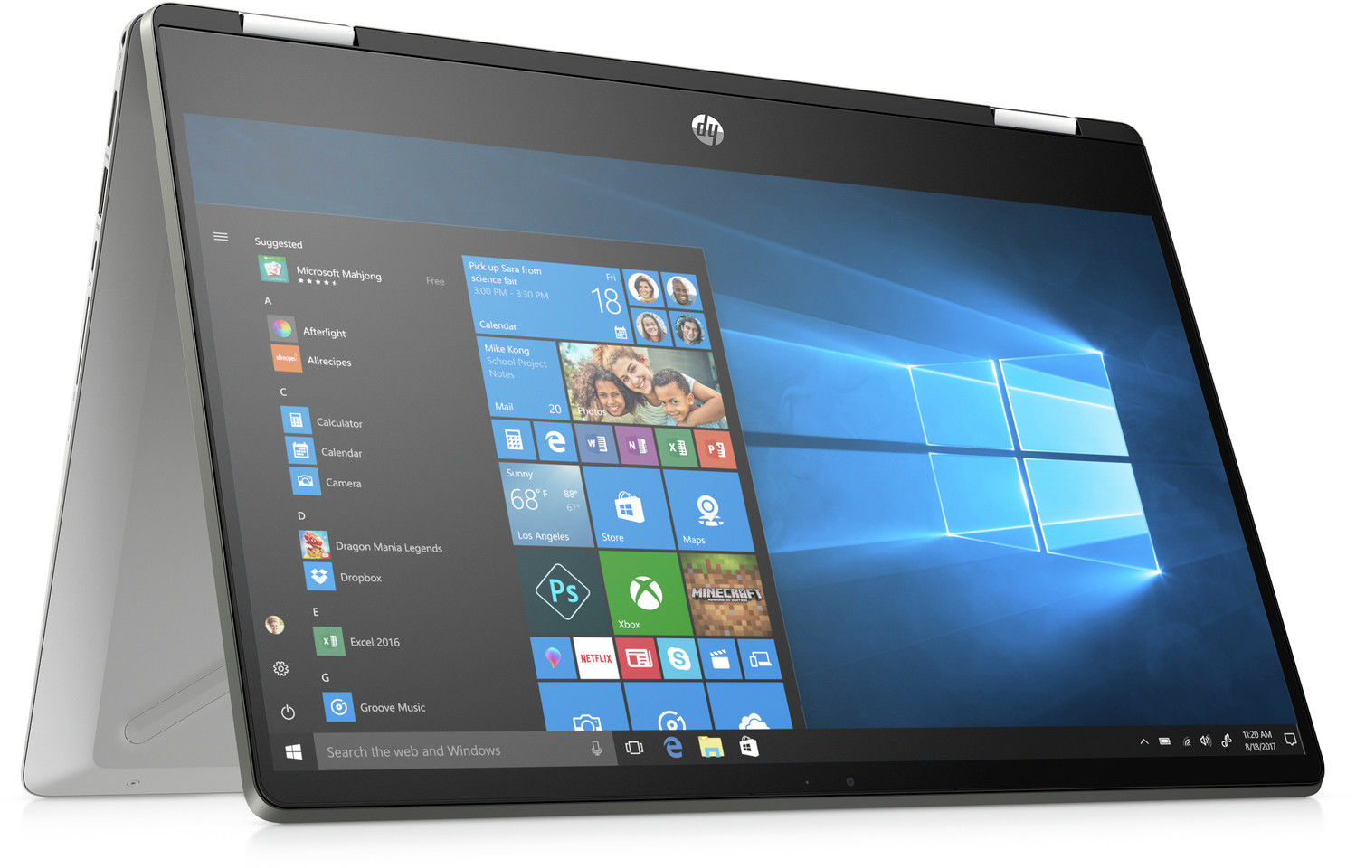 Laptop HP Pavilion x360 konwertowalny 14-dh0005nw 6RT71EAR