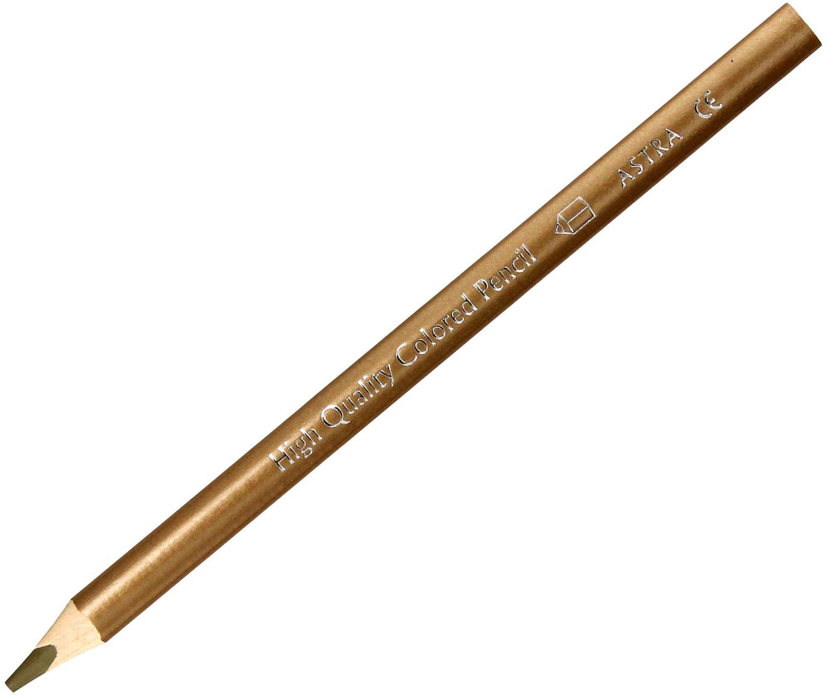 Kredka ołówkowa złota Astra 312117016